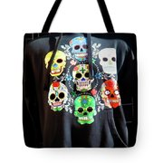 Skull T Shirts Day Of The Dead  Tote Bag