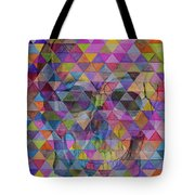Skull Triangle Tote Bag
