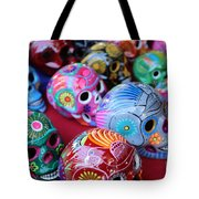 Skulls Day Of The Dead  Tote Bag