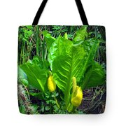 Skunk Cabbage In Bloom Tote Bag