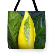 Skunk Cabbage Tote Bag