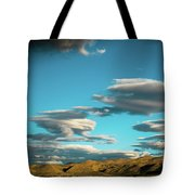 Sky And Clouds Garuda Valley Tibet Yantra.lv Tote Bag