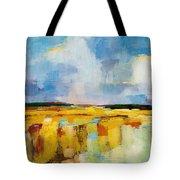 Sky And Marsh Tote Bag