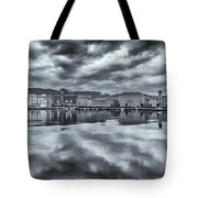 Sky And Sea Tote Bag