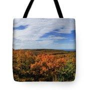 Sky And Trees Tote Bag