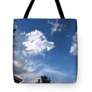 Sky Before The Storm Tote Bag