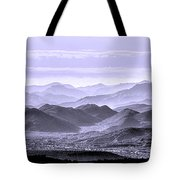 Sky Blue Hills Of The Tonto Tote Bag