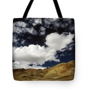 Sky Blue Sky Tote Bag
