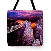 Sky Bridge Tote Bag