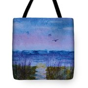 Sky Color Tote Bag