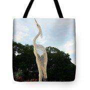 Sky Crane Tote Bag