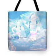 Sky Dancing Tote Bag