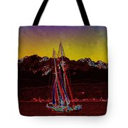 Sky Diamonds Tote Bag
