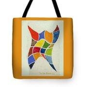 Sky Diver Watercolor Tote Bag