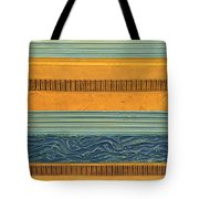 Sky Earth Water  Tote Bag by Michelle Calkins
