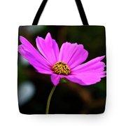 Sky Facing Flower Tote Bag