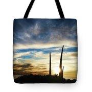 Sky Fingers Tote Bag