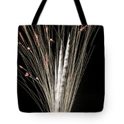 Sky Flowers Tote Bag
