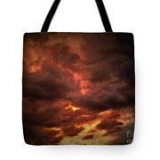Sky Fury Tote Bag