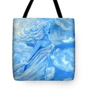 Sky Goddess Tote Bag by Cassandra Geernaert