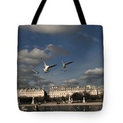 Sky Tote Bag by Milan Mirkovic