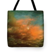 Sky Moods - When The Moons Behind The Clouds Tote Bag