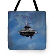 Sky Needle Tote Bag