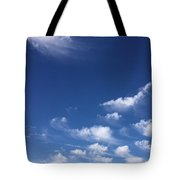 Sky Of Deepest Blue Tote Bag