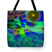 Sky Of Mind Tote Bag