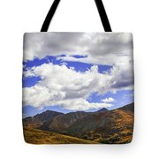 Sky On The Divide Tote Bag