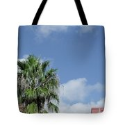 Sky Palm Tote Bag
