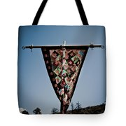 Sky Quilt Tote Bag