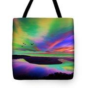 Sky Rays Tote Bag