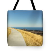Sky Road Tote Bag