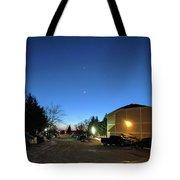 Sky Time Tote Bag