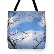 Look At The Blue Sky Tote Bag