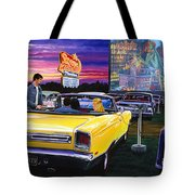 Sky View Drive-in Tote Bag
