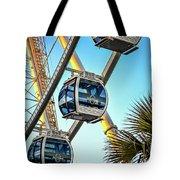Sky Wheel Sunset Tote Bag