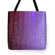 Skyline 3 Tote Bag