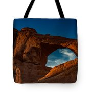 Skyline Arch At Sunset Tote Bag