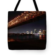 Skyline Bridge Tote Bag