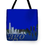 Skyline Chicago 4 Tote Bag