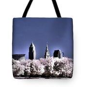 Skyline Cleveland, Ohio Tote Bag