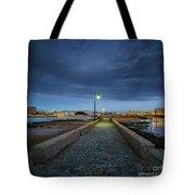 Skyline From The Walkway Cadiz Spain Tote Bag