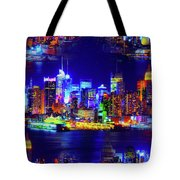 Skyline Island Tote Bag