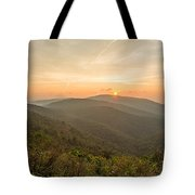 Skyline Morning Tote Bag