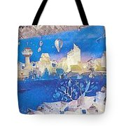 Skyline Tote Bag
