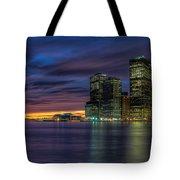 Skyline Sunset Tote Bag