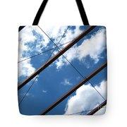 Skylines Photograph Tote Bag