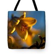 Skylit Lily Tote Bag
